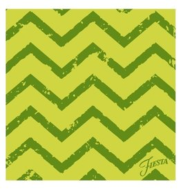 Thirstystone Green Chevron Single Coaster