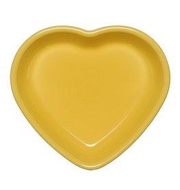Medium Heart Bowl 19 oz Sunflower