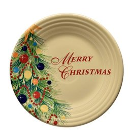 "Luncheon Plate 9"" Merry Christmas"