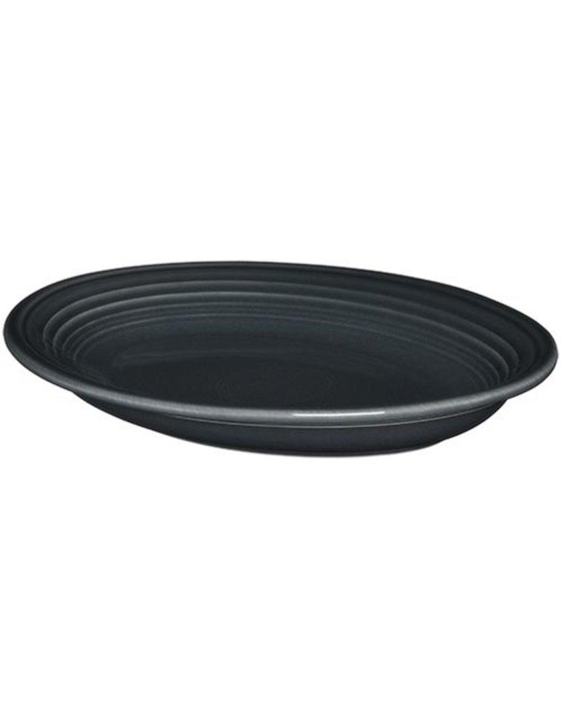 """Medium Oval Platter 11 5/8"""" Slate"""