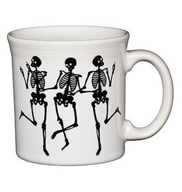 Java Mug Halloween Skeleton Trio