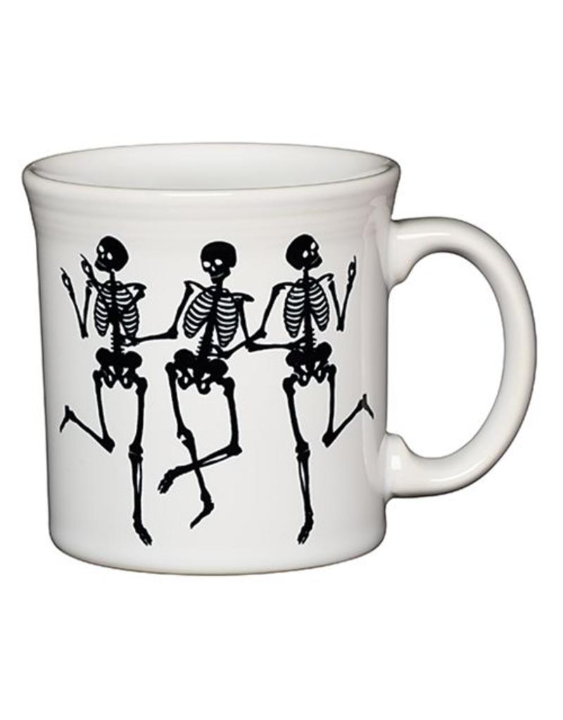Java Mug Halloween Skeleton Trio