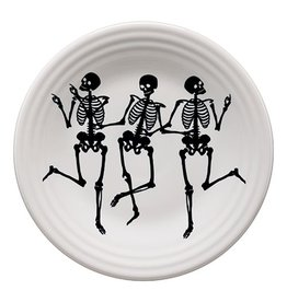 Luncheon Plate Skeletons Trio