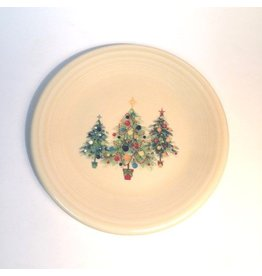 Salad Plate Christmas Trio of Trees