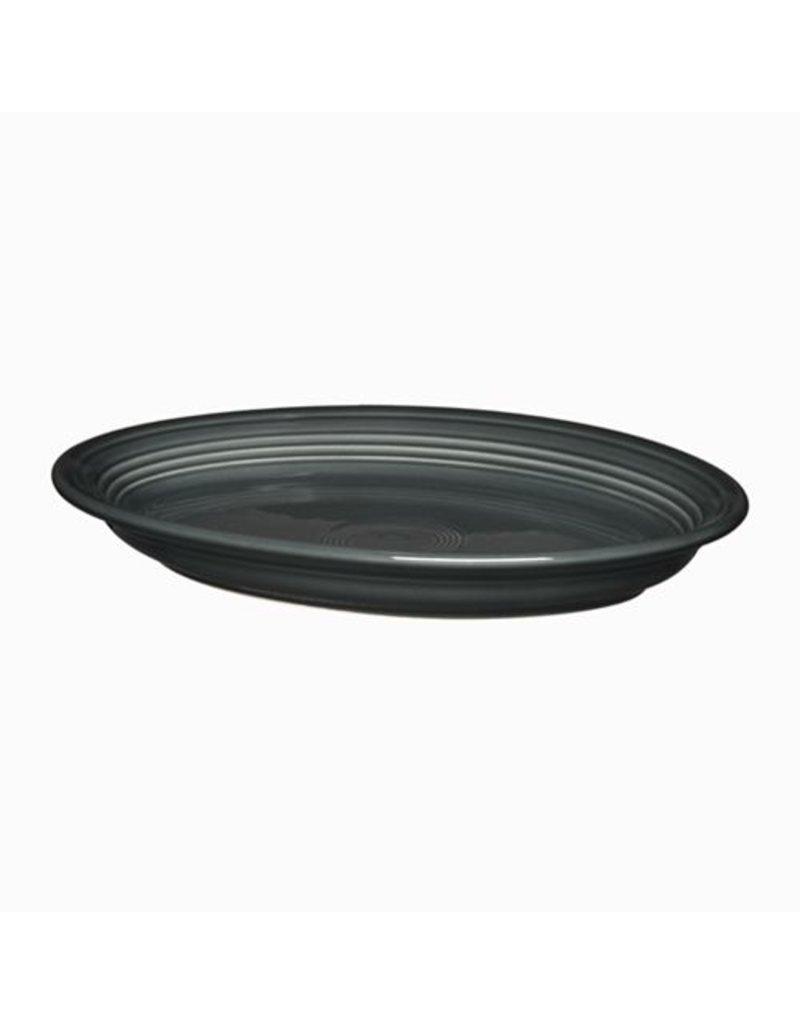 """Large Oval Platter 13 5/8"""" Slate"""