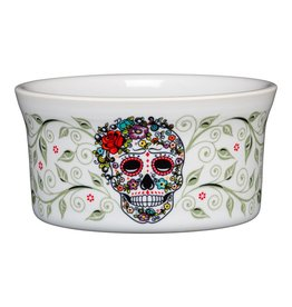 Sugar Skull and Vine Ramekin