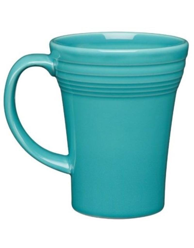 Bistro Latte Mug Turquoise