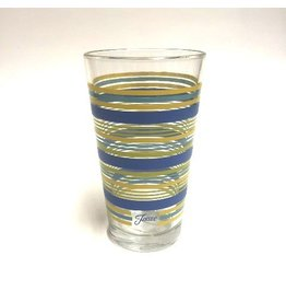 Tall Tapered Tumbler with Stripes