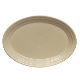 "Small Oval Platter 9 5/8"" Ivory"