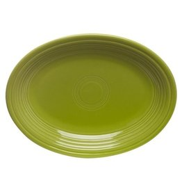 "Small Oval Platter 9 5/8"" Lemongrass"