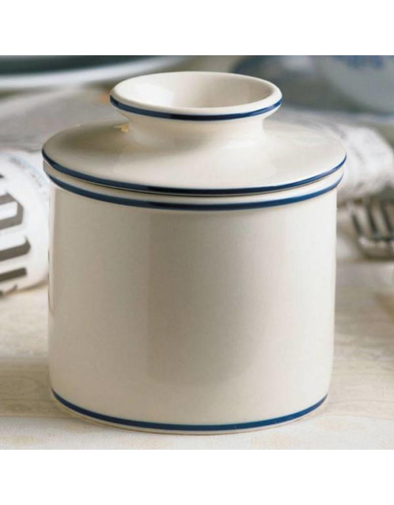 L. Tremain Butter Bell Le Bistro w/Blue Trim
