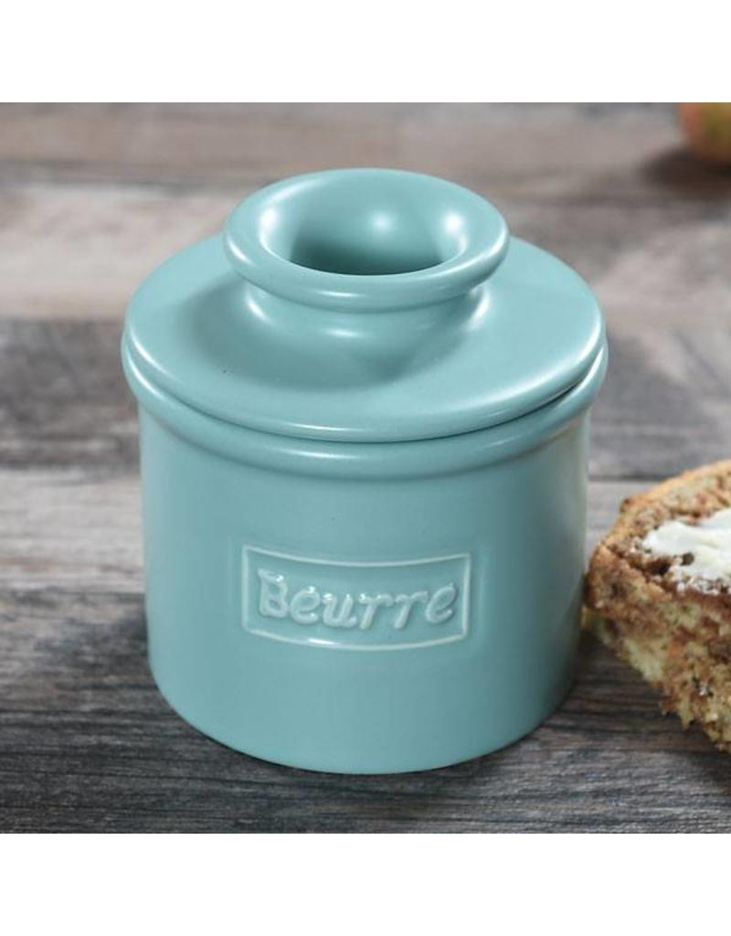 L. Tremain Butter Bell Cafe Collection Aqua Matte Finish
