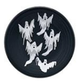 The Homer Laughlin China Company Luncheon Plate Halloween Ghosts