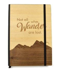 Not all Who Wander Notebook