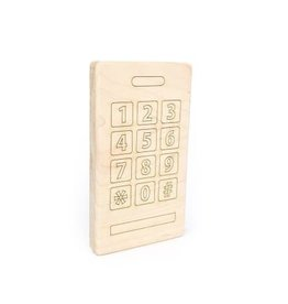 Smart Phone Wood Toy