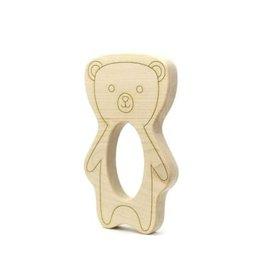 Teddy Bear Wood Teether