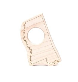 Mississippi Wood Toy Teether