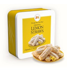 Lemon Straws 10 Oz Tin