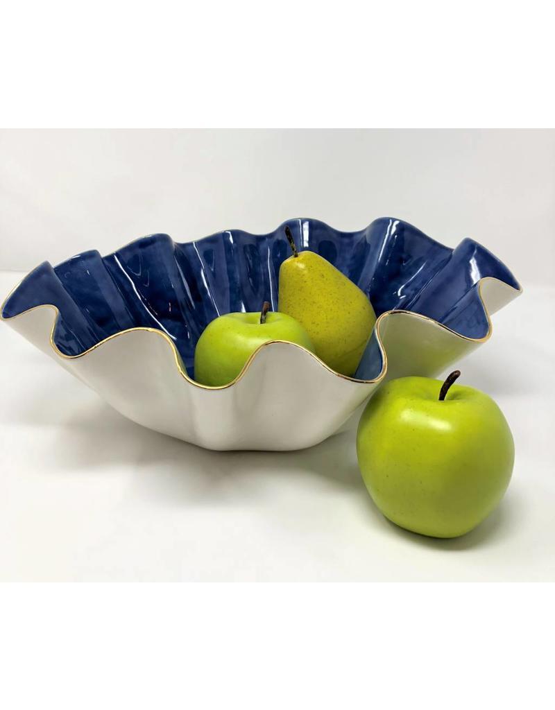 Susan Gordon Pottery Size G Abstract Bowls