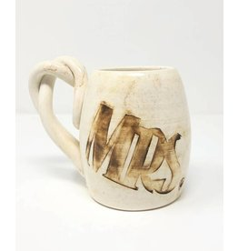 Mrs. Pottery Coffee Cup Brown