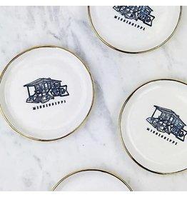 Custom Tupelo Round Dish