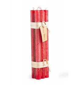 Timber Tapers Bundle of 6 Cranberry