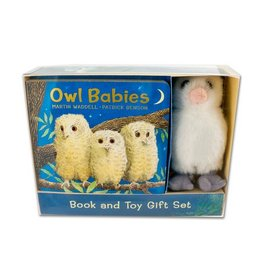 Owl Babies Book & Toy