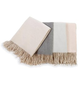 Morgan Throw Blanket Taupe