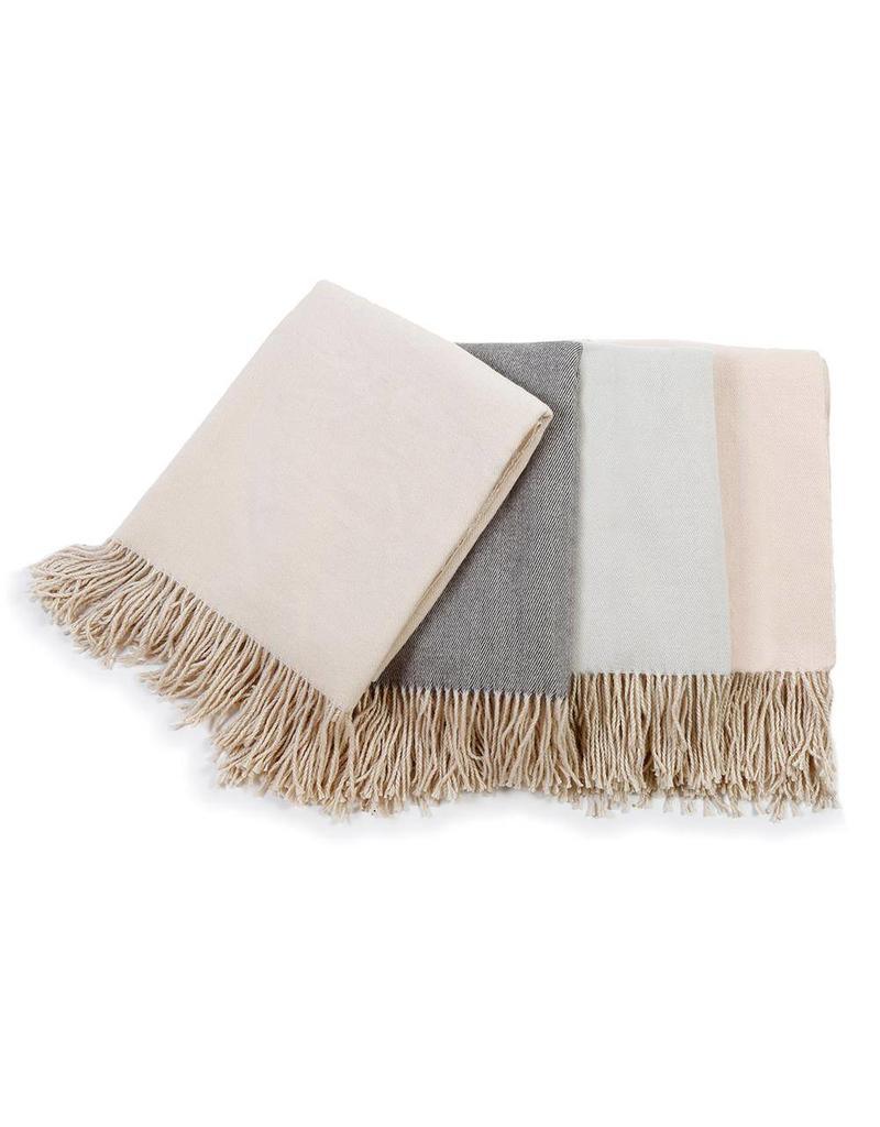 Morgan Throw Blanket Taupe