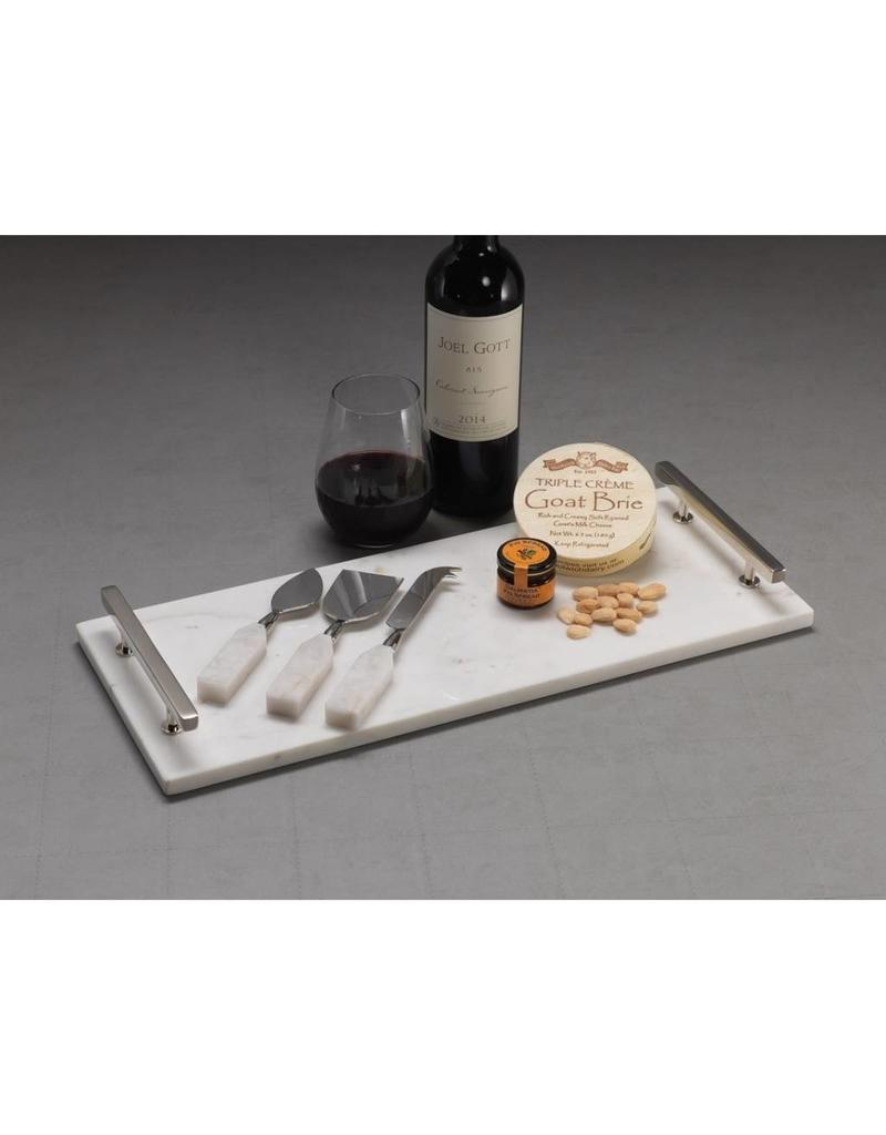 Alabaster 3 Piece Cheese Knife Set