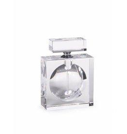 Modern Morocco Glass Perfume Bottle- Rectangular, Min. 1