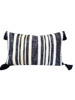 Denim Stripe Pillow 16x26