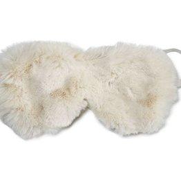 Ivory Mink Sleep Mask