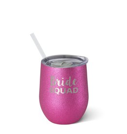 Swig Wine-Bride Squad 12oz