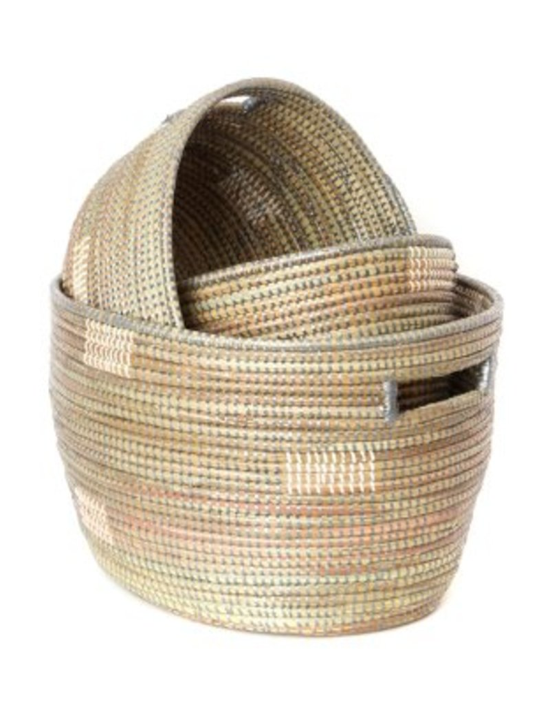 Oval Sewing Basket