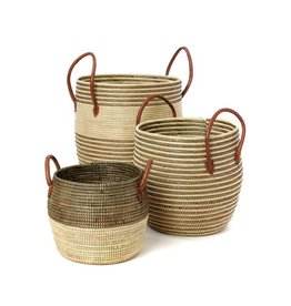 Huntington Striped Hamper