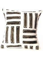 Parallel Line Print Pillowcase 20x20