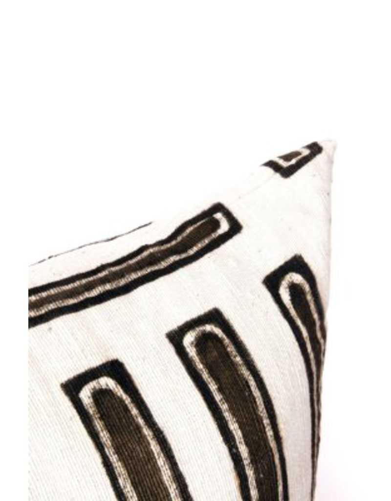 Parallel Line Print Pillowcase 20x20
