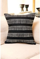 Zambian Tribal Comb hand painted pillow cover