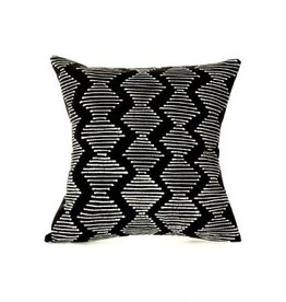 Zambian Tribal Diamonds hand painted pillow cover