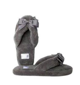 Gray Spa Slipper