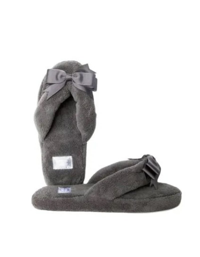 Gray Spa Slipper