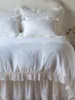 Linen Whisper King Duvet winter white