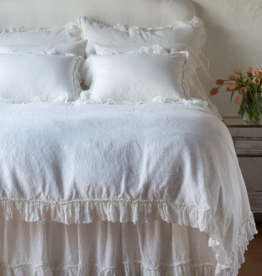 Linen Whisper King Duvet winter white
