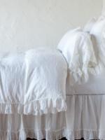 Linen Whisper Queen Duvet winter white