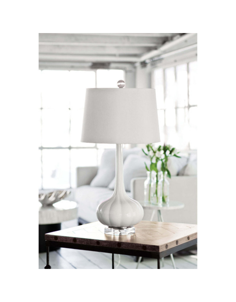 Milano Table Lamp Snow