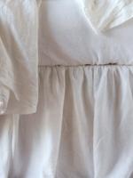 Linen Panel Bed Skirt Queen Size by Bella Notte