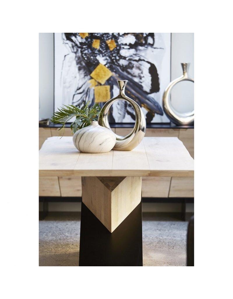 Carrara Round Vase
