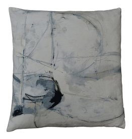 Trajectory Velvet Pillow
