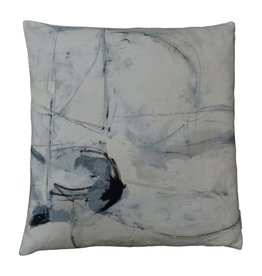 Trajectory Velvet Pillow